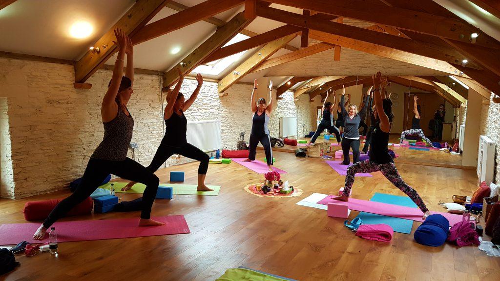 seasonal yoga retreat